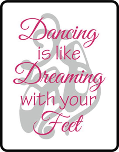 Ballet Wall Stickers children s sport quotes amp sayings wall decals amp stickers