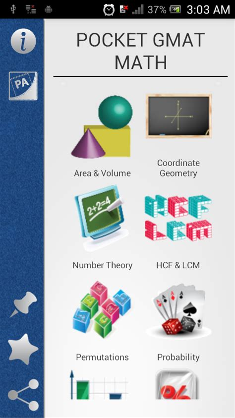 gmat math section pocket gmat math android apps on google play