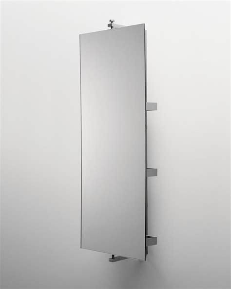 ali stainless steel wall mounted turning mirror