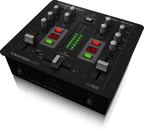 Mixer Behringer 2 Channel behringer vmx100usb professional 2 channel dj mixer with usb audio interface bpm counter and