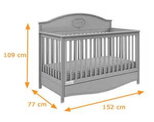 lilly cot bed convertible to toddler in light