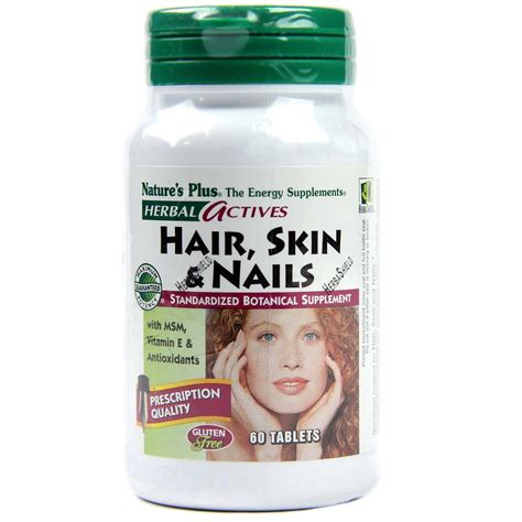 Natures Plus Ultra Hair Isi 60tablet nature s plus hair skin nails 60 tablets evitamins uk