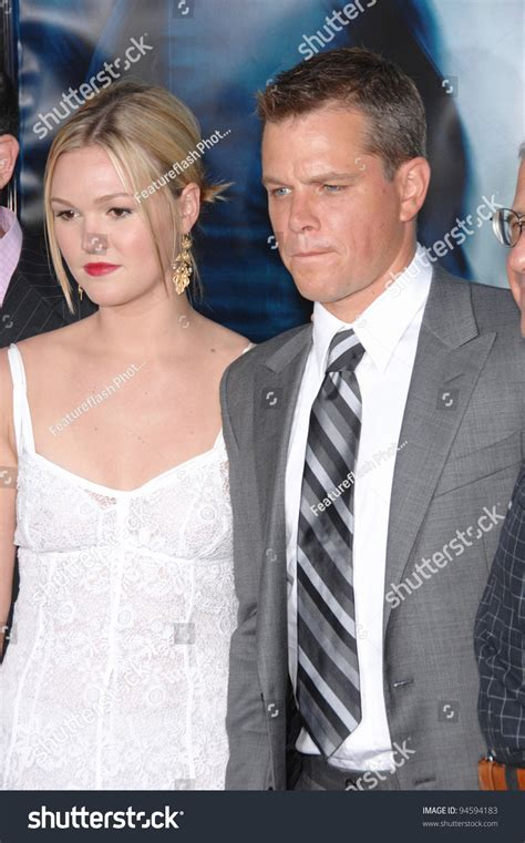 The Bourne Ultimatum Premiere Stiles Neve Cbell And Co by Matt Damon Stiles At The World Premiere Of Their