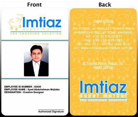 corporate id card template 12 employee s photo id badges template exceltemplates
