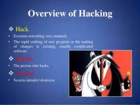 ethical hacking presentation