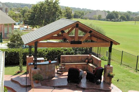 Backyard Structure Ideas Backyard Wooden Shade Structures Outdoor Furniture Design And Ideas
