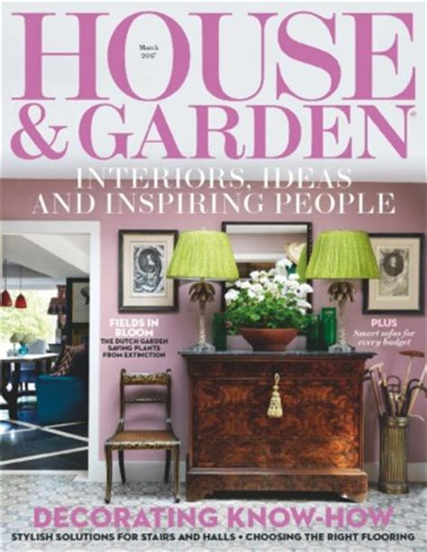 home design magazine subscription isubscribe house garden magazine subscription isubscribe co uk