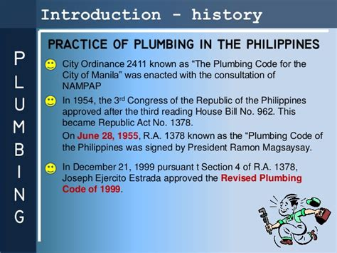 Plumbing Code Of The Philippines Pdf by Revised Plumbing Code Of The Phippines Pdf