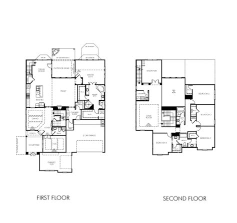 luxury meritage homes floor plans new home plans design