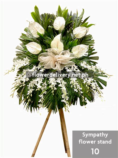 Funeral Flowers Delivery by Sympathy Flower Stand 10 Flower Delivery In Metro Manila