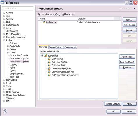 tutorial python eclipse 转 python development with pydev and eclipse tutorial