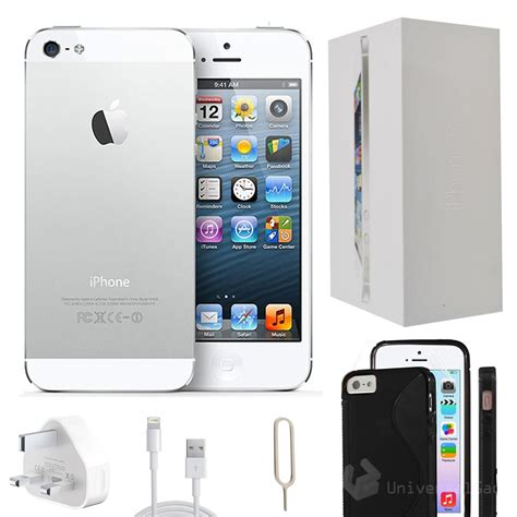 iphone refurbished apple iphone 5 32gb white unlocked refurbished grade a accessories 885909637331 ebay