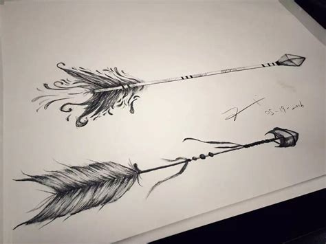 tattoo arrow design arrow design by esther chiu could be a great
