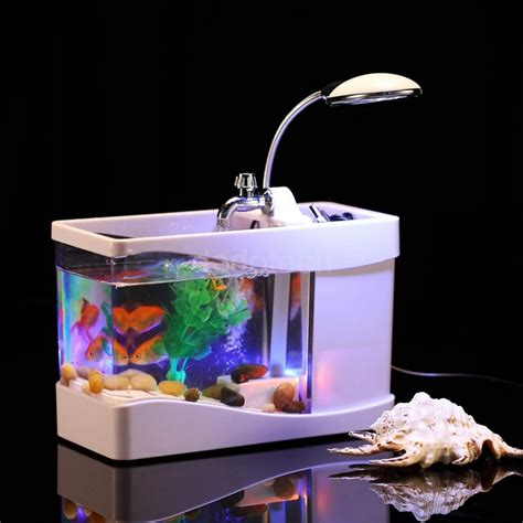 Small Home Aquarium Small Fish Tank