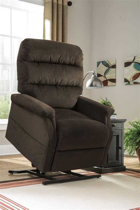 power recliner lift chairs brenyth chocolate power lift recliner 7460212 lift