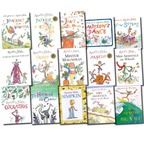 quentin blake collection 10 quentin blake collection red fox picture 15 books set new cockatoos angelo ebay
