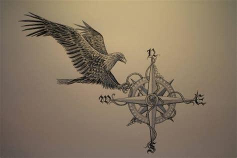 candeias kompass adler ii tattoos von tattoo bewertung de