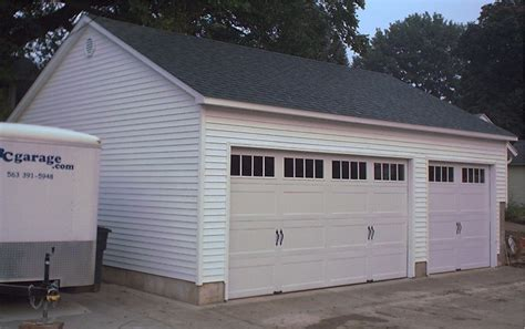 24x30 Garage by Garage Projects Illinois Iowa