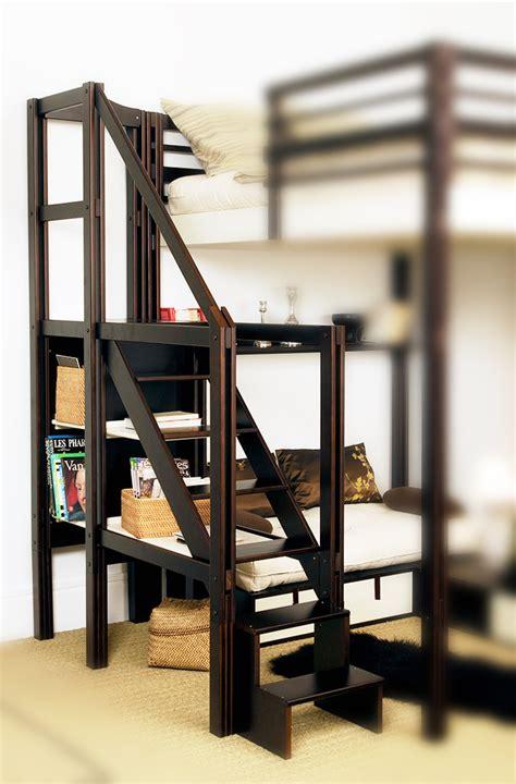lit mezzanine 2 places escalier lit mezzanine places avec escalier