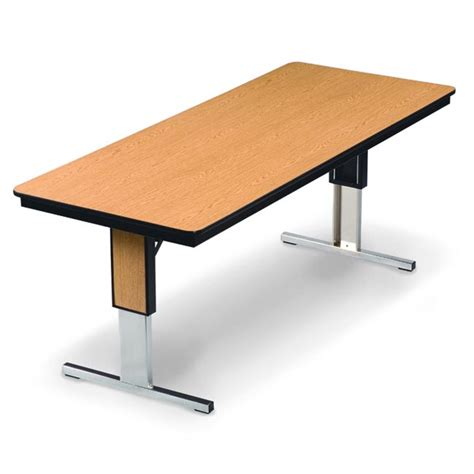 Folding Meeting Tables Midwest Folding Products Tl Series Conference Folding Table W Plywood Adjustable Height