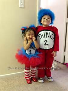 1 year old boy halloween costume ideas adorable one year old thing 1 and three year old thing 2