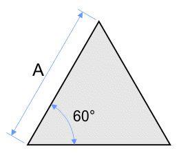 calcul de la surface d un triangle