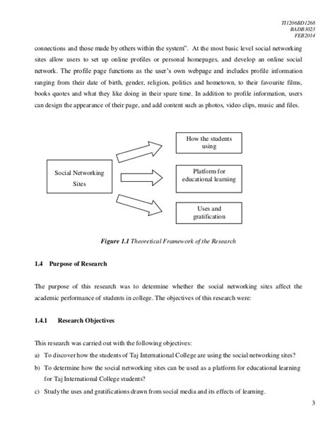 thesis about social media and academic performance the effects of social networking sites on the academic