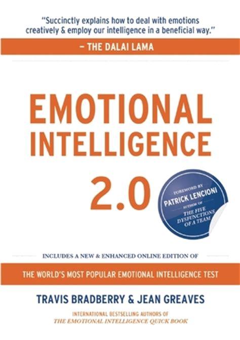 Emotional Intelligence 2 0 emotional intelligence 2 0 by travis bradberry