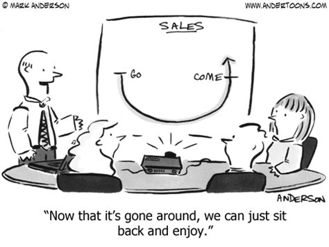 Just Sit Back And Enjoy by Sales 3102 Andertoons Sales