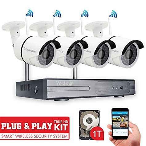 yeskam wireless security system 4 channel