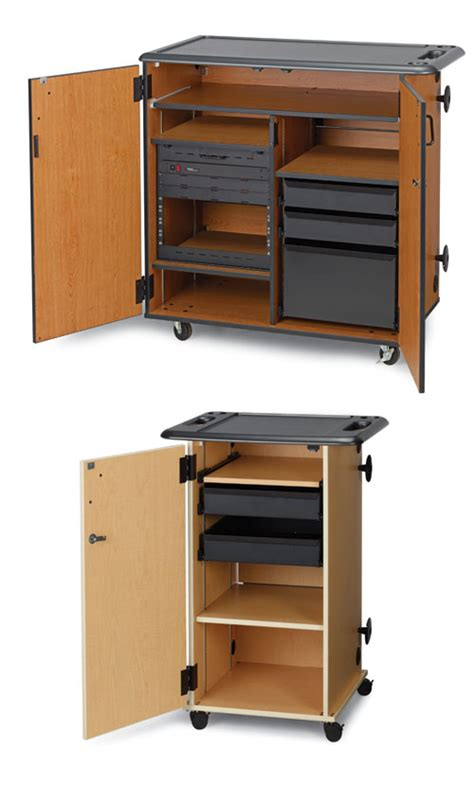mobile media mobile media storage cabinets wenger corporation