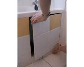 comment faire une trappe de visite pour baignoire sanitrap boutique tmr40560 trappe magn 233 tique