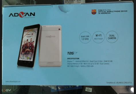 Tablet Advan 600 Ribuan tablet 600 ribuan 7 inci advan vandroid t2g