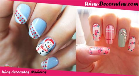 dise 241 os de u 241 as decoradas con flores nails art u as figuras de mu ecos unas decoradas decoraci 243 n de