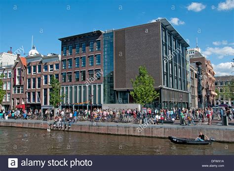 buying a house in amsterdam anne frank museum left old house prinsengracht 263 265 amsterdam stock photo royalty free