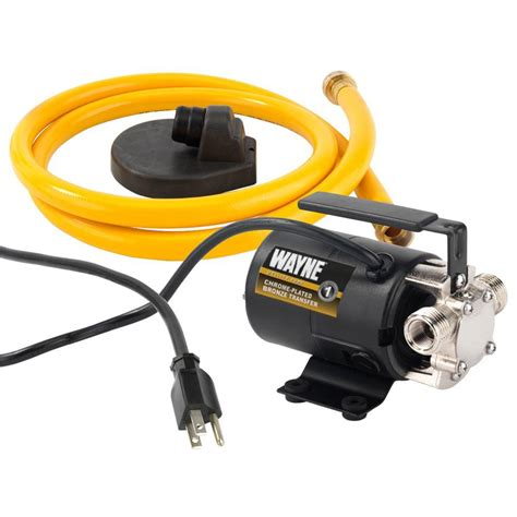 Wayne 1/10 HP Portable Transfer Utility Pump PC2   The