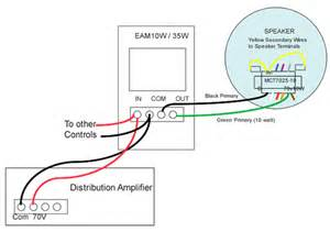 70 volt speaker systems wiring diagram get free image about wiring diagram