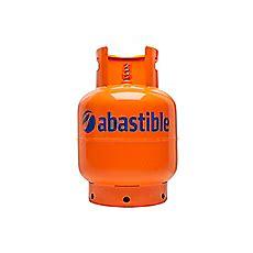 cilindro gas licuado  kg    cm naranja abastible