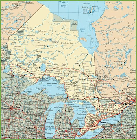 maps and directions canada ontario road map to maps directions world maps