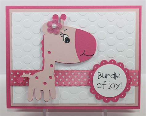 Cricut Baby Shower Cards by Cricut Baby Cards Simply Pam Episode 39 Baby Giraffe