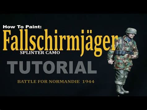 Camouflage Lackieren Anleitung Modellbau by How To Paint The Ss Autumn Camo Pattern In 1 35 Doovi