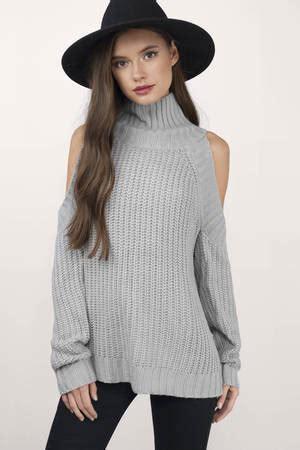 Sweater Trumpet Grey Sm cheap grey sweater turtleneck sweater 32 00