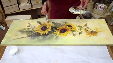 Decoupage Pictures - decoupage tutorial diy decoupage on canvas how to make