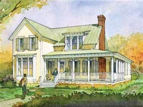 Country House Plans With Porches Southern Living House 2 Story Southern Home Plans