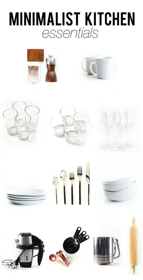 Kitchen Utensil Essentials List Everything Look At And Product List On