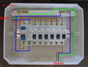 distribution board wiring diagram electrical blog