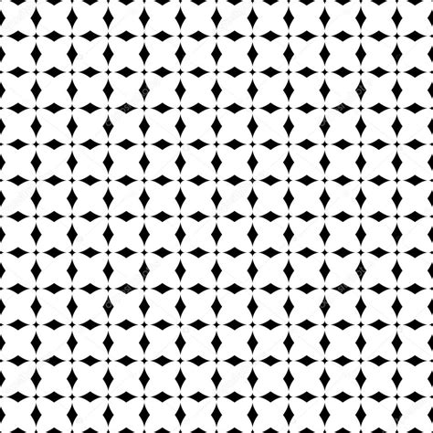 pattern black white simple simple black and white seamless pattern stock vector
