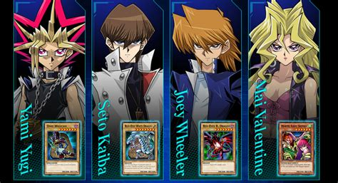 yugioh duelist yu gi oh duel links characters how to unlock every