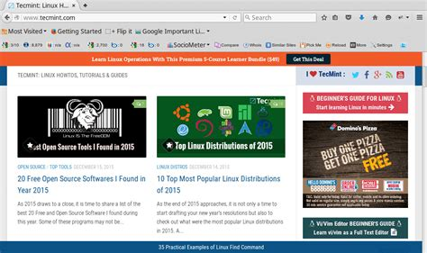 mobile firefox browser 11 best open source web browsers i discovered for linux in