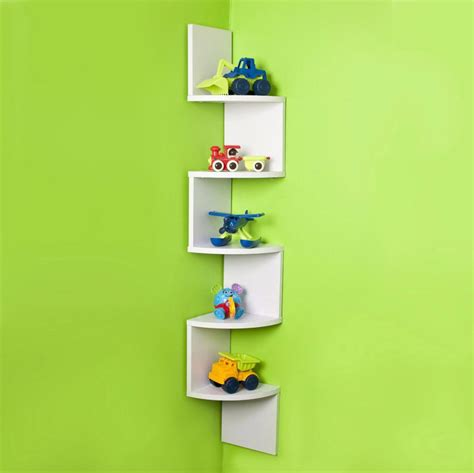 shelf designer home design decorating corner floating wall shelves